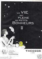 Publicité 2014 - Thés THEODOR Paris