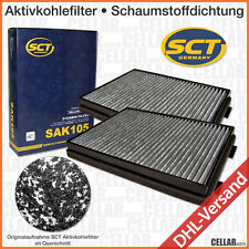 2 x Innenraumfilter Pollenfilter Mikrofilter Innenraumluft Aktivkohle BMW E39