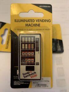 K-Line O Soup & Sandwich Shop Illuminated Vending Machine Accessory 6-22205 NIP