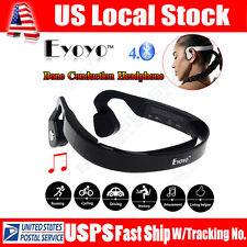 Eyoyo LF-19 Bone Conduction Wireless Bluetooth Stereo Sports  Headphone Black