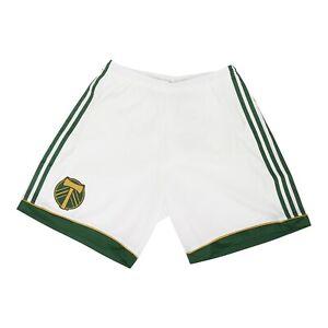 Portland Timbers MLS Adidas Men's Adizero White Authentic Team Shorts