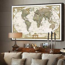 "The old World Map large Vintage Style Retro Paper Poster Home decor  (27""*20"")"