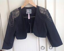 lipsy short shoulder detail jacket ... size 10