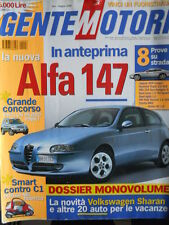 GENTE MOTORI n°6 2000 Jaguar XKR Coupè Seat Leon 1.9 TDI Sport [P43]