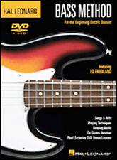 HAL LEONARD BASS METHOD NEW DVD