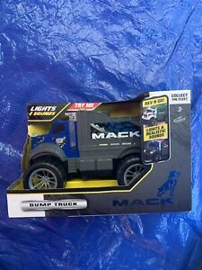 Mack Motorized Lights and Sound Dump Truck By Kid Halaxy Construction NEW