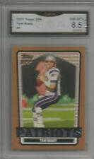 Tom Brady Topps #4 2007 8.5!