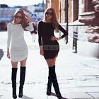 HOT Womens Slim Bodycon Cocktail Party Evening Clubwear Bandage Short Mini Dress