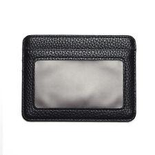 Mens PU Leather Wallet Front Pocket RFID Blocking Slim Mini Card Holder Bag New
