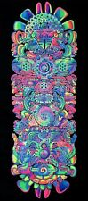 Trippy Tapestry UV Backdrop Mushroom Art Psytrance Deco Festival Wall Hanging