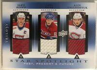 2013-14  Saku Koivu Eller Alex Galchenyuk Trilogy Three Star Jersey's Montreal