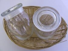 Empty Clear Glass Bean Pot - Candlemaking, Candle Jar**250g