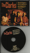 THE CLARKS Chasin Girls MIXS & Better off without you LIVE PROMO DJ CD Single