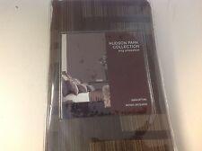 Hudson Park Collection King Pillow Sham Cover Manhattan Jacquard New