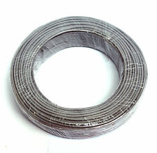 50m φ3mm 3mm Shielding Signal Cable Wire 2C 26AWG Gray Tin-plated copper wire