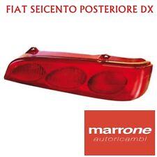 FARO FANALE FANALINO POSTERIORE POSTERIORE DX FIAT SEICENTO 600 DAL 98 (1998>)