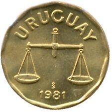 elf Uruguay 50 Centesimos 1981   Scales  Libra