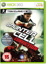 Xbox 360 Tom videojuego SPLINTER CELL CONVICTION ** Nuevo Y Sellado ** existencias oficiales del Reino Unido