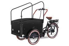 Pedelec 250W E-Bike Lastenrad 26 Zoll 9-Stufen Unterstützung 7-Gang Shimano