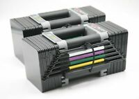 NEW UNOPENED POWERBLOCK ELITE EXP 70LB Series Adjustable Dumbbells | *SET OF 2*