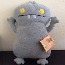 "Uglydoll Grey Babo Classic Stuffed Plush 13"" With Tag Ugly Doll 2004"