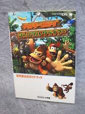 DONKEY KONG Jungle Climber Official Guide Book Nintendo DS SG54*
