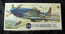 Airfix P-51D Mustang 1/72 Scale Aircraft Model Kit