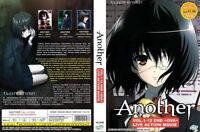 ANIME DVD ENGLISH DUBBED Another(1-12End+OVA+Live Action Movie)FREE SHIP+GIFT