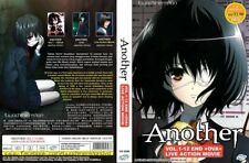 ANIME DVD~ENGLISH DUBBED~Another(1-12End+OVA+Live Action Movie)FREE SHIP+GIFT
