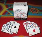 Vintage Clay Art Royal Flush Poker Salt & Pepper Shakers Set Playing Cards New!