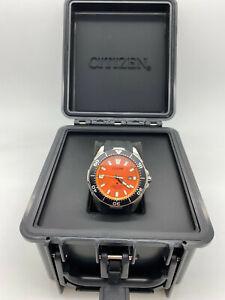 New Citizen Eco-Drive Men's Promaster Dive Watch Rubber Strap BN0200-05X