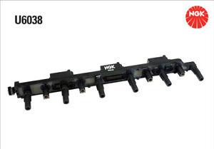 NGK Ignition Coil U6038 fits Jeep Wrangler 4.0 (TJ), 4.0 Rubicon (TJ)