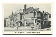 Shanklin - Westboro Guest House, Collingwood / Brook Road - postcard