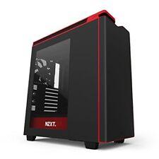 Nzxt Ca-h442w-m1 Cassa da Gaming per PC Nero/rosso