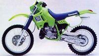 Kawasaki KDX 200 Genuine Factory Workshop Repair Manual 1989-1994