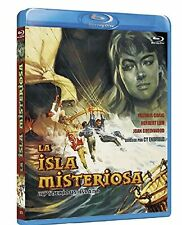 MYSTERIOUS ISLAND (1961 Herbert Lom) -  Blu Ray - Sealed Region B for UK