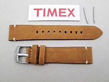 Genuine Timex Expedition Scout TW4B01800 tan camel glove leather watch band 20mm