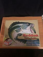 Heddon's Frogs Vintage Retro Tin Metal Sign 16 x 13in
