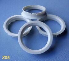(Z05) 4 Stück Zentrierringe Reduzierringe 63,3 / 56,1 mm elfenbein für Alufelgen