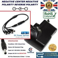 UK AC/DC 9V POWER SUPPLY ADAPTER FOR BOSS GUITAR EFFECTS PEDAL 5 WAY DAISY CHAIN