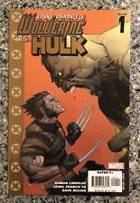 ULTIMATE WOLVERINE VS. HULK #1 VF+ (Marvel 2006)