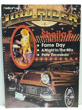Lowrider Performance Pride Culture Car Magazine March 1985 Sheila E