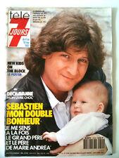 Télé 7 Jours 4/05/1991  DOUBLE BONHEUR POUR SEBASTIEN