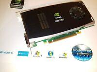 HP Compaq Elite 8000 8100 8200 8300 192-Bit Quadro 768MB Dual Monitor Video Card