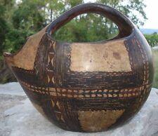 -Poterie Kabyle Pot à Bouillon Zoomorphe