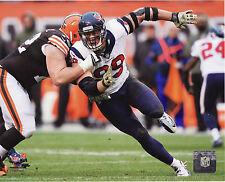 J.J. WATT – HOUSTON TEXANS DE - NFL LICENSED 8x10 ACTION PHOTO