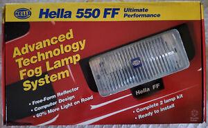 Hella 550 FF Fog Lamp Kit NEW