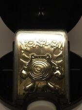 Pokemon ~ Poliwhirl ~ Pokeball 23K Gold-Plated Trading Card Burger King 1999 LE