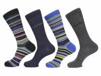 Calvin Klein Socks Men's 4-Pairs Multi Stripe Crew