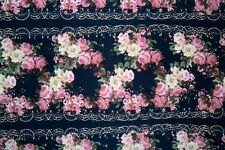 Brushed Floral ITY Print #290 Stretch Polyester Lycra Spandex Fabric BTY
